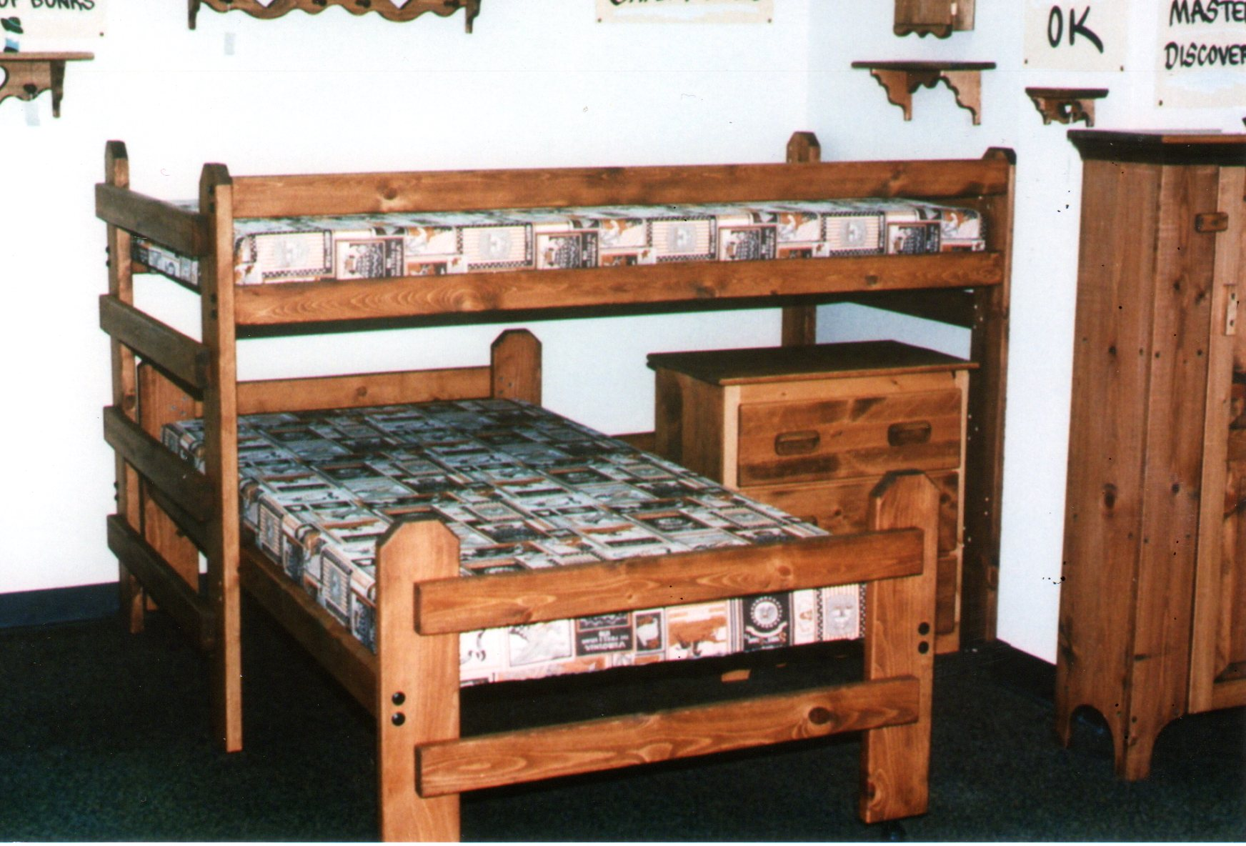 L Formed Loft Bunk Beds L-Shaped Bunk. Standard Bunk